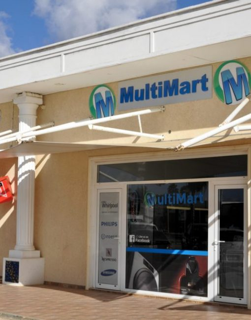 Productmix voor Multimart